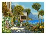 Passeggiata al Lago Art by Guido Borelli