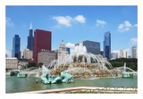 Buckingham Fountain Poster by Jessica Levant