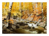 October Creek Prints by Alexander Volkov