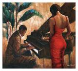 Enchanting Keys Poster by Monica Stewart