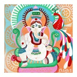Ganesh of Flight Print by Jessica Swift