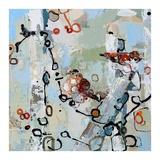 Two Red Sparrows Affiches par Britt Freda