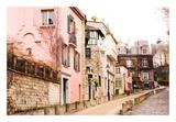 Montmartre Street, Rue de l'Abreuvoir Plakater av Georgianna Lane