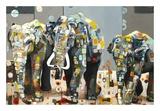 Sumatran Elephants Plakater af Britt Freda