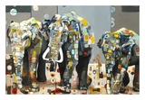 Sumatran Elephants Prints by Britt Freda
