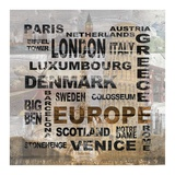 Europe Prints by Alicia Soave