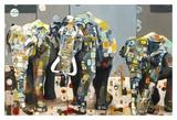 Sumatran Elephants Print by Britt Freda