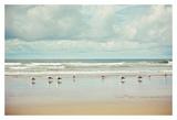 Beachcombing Print by Irene Suchocki