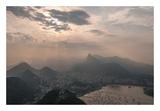 Sugar Loaf, Rio de Janeiro, Brazil Print by Richard Silver