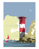 The Needles Blank - Dave Thompson Contemporary Travel Print Posters by Dave Thompson