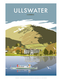 Ullswater - Dave Thompson Contemporary Travel Print Prints by Dave Thompson