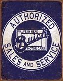 Buick - Value In Head Plaque en métal