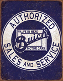 Buick - Value In Head Tin Sign