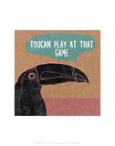 Toucan Play At That Game - Abigail Gartland Art Print Prints by Abigail Gartland
