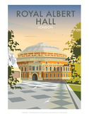 Albert Hall - Dave Thompson Contemporary Travel Print Posters by Dave Thompson