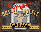 Busted Knuckle - Genuine Tin Sign