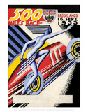 500 Miles Race 16th Sept 1933 - Silverstone Vintage Print Posters by Silverstone