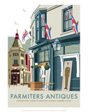 Parmiters Antiques - Dave Thompson Contemporary Travel Print Prints by Dave Thompson