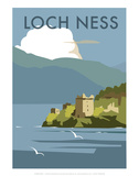 Loch Ness - Dave Thompson Contemporary Travel Print Posters by Dave Thompson