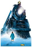 The Polar Express - Train Lifesize Standup Cardboard Cutouts