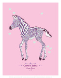 Zebra - WWF Contemporary Animals and Wildlife Print Posters by  WWF