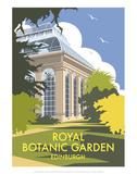 Royal Botanic Garden, Edinburgh - Dave Thompson Contemporary Travel Print Art by Dave Thompson