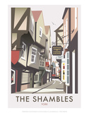 Shambles - Dave Thompson Contemporary Travel Print Posters by Dave Thompson
