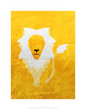 Lion - Jethro Wilson Contemporary Wildlife Print Posters by Jethro Wilson