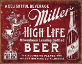 Miller - Bound To Please Blechschild