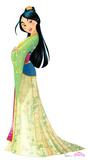 Mulan - Disney Princess Friendship Adventures Lifesize Standup Cardboard Cutouts