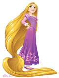 Rapunzel - Disney Princess Friendship Adventures Lifesize Standup Cardboard Cutouts