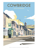 Cowbridge - Dave Thompson Contemporary Travel Print Posters by Dave Thompson