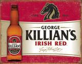 Killian's Red Plaque en métal