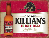 Killian's Red Tin Sign