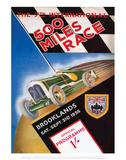 500 Miles Race - Silverstone Vintage Print Affiches par Silverstone