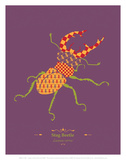Stag Beetle - WWF Contemporary Animals and Wildlife Print Art by  WWF