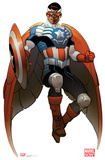 All New Captain America - Marvel Now Lifesize Standup Cardboard Cutouts