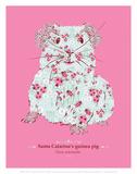 Guinea Pig - WWF Contemporary Animals and Wildlife Print Poster af WWF