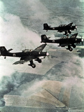 German Bombers Ju 87 Stukas, Luftwaffe, Summer 1940 Photo