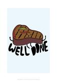 Well Done - Tom Cronin Doodles Cartoon Print Giclee Print by Tom Cronin