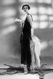 Woman Wearing Chanel Dress, 1928 Photo