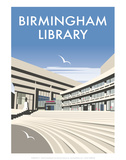 Birmingham Library - Dave Thompson Contemporary Travel Print Prints by Dave Thompson