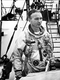 Michael Collins, Astronaut for American Space Programs (Gemeni 10 in 1966) Here on May 25, 1967 Photo