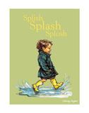 Splish Splash Splosh - Alfie Illustrated Print Prints by Shirley Hughes