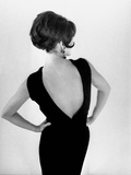 "Fashion by Chloe : ""Mirage"" Black Cocktail Dress August 7, 1963 Photo"