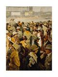 Grand Circuit Automobile De 1923 Devant Le Tableau De Classement Posters