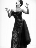 Jazz, Rhythm and Blues and Gospel Singer Ruth Brown Here C. 1958 Photo