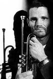 Jazz Trumpet Player Chet Baker (1929-1988) C. 1987 Photographie
