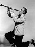 Jazz Musician Benny Goodman (1909-1986) c. 1945 Photographie