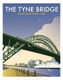 Tyne Bridge - Dave Thompson Contemporary Travel Print Posters par Dave Thompson